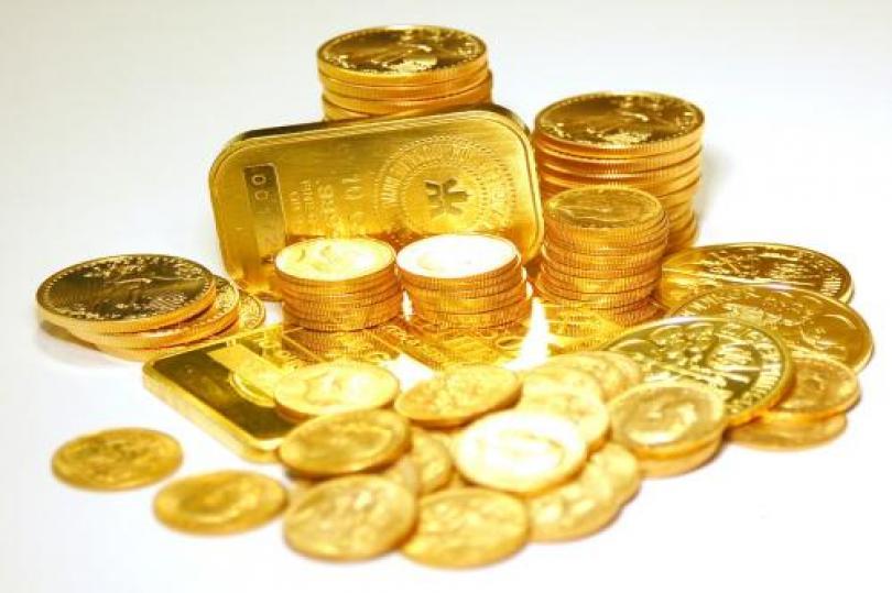 هبوط الذهب بفترة التداول الأوروبية