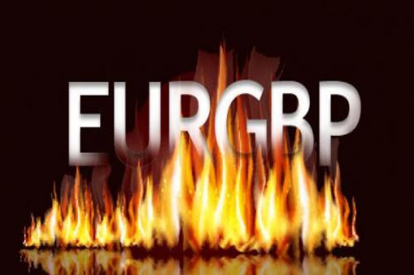 اليورو- استرليني ما بين طلبات الشراء وأوامر البيع