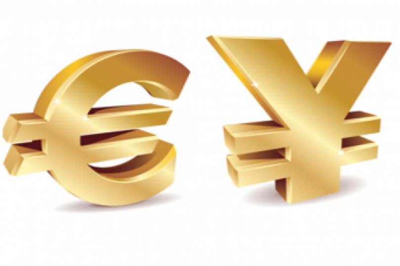 اليورو ين يسجل ارتفاعًا