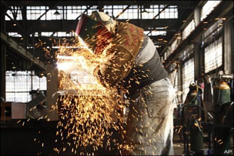تراجع الإنتاج الصناعي الألماني في إبريل