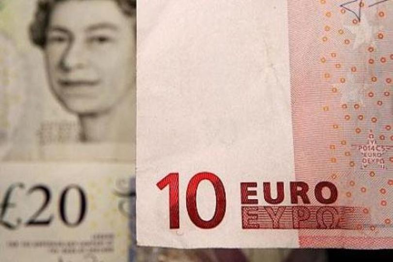 ارتفاع (اليورو / إسترليني) لتراجع مخاوف اليونان وزيادة الطلب على اليورو